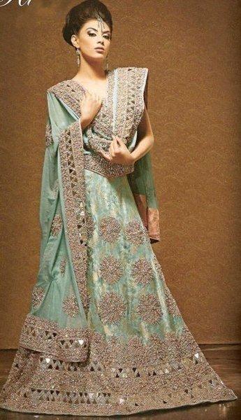7231c7e62 Wedding Anarkali Frocks 2014 For Walima Brides