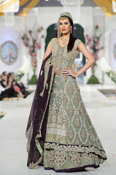Wedding Anarkali Frocks 2014 For Walima Brides