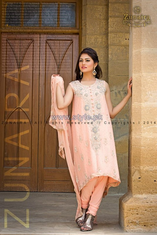Zunaira's Lounge Formal Dresses 2014 For Girls 3