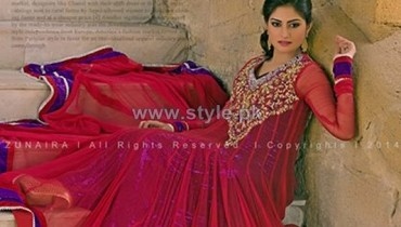 Zunaira's Lounge Formal Dresses 2014 For Women 7