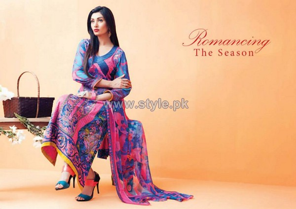 Amna Ismail Imperial Lawn Dresses 2014 For Women 7