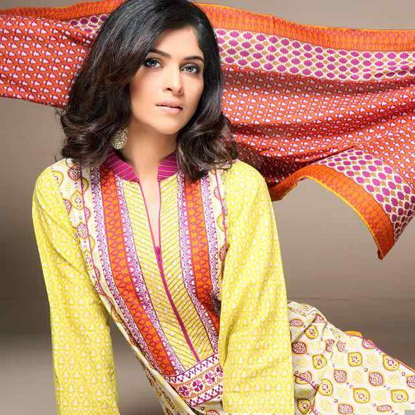 Bonanza Satrangi Ready To Wear Eid Collection 2014 For Women 006