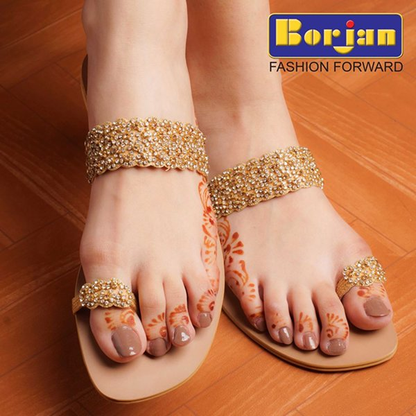 Borjan Eid Ul Azha Footwear Collection 2014 For Women 003