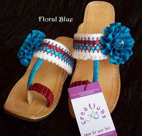 Fashion Of Kolhapuri Shoes 2014 For Women 007