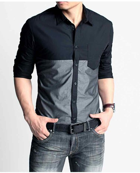 fashion of men casual shirts 2014 for summer 007