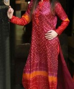 Fashion Of Pakistani Chunri Dresses 2014 For Women 007