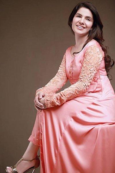Fashion Of Pakistani Silk Dresses 2014 For Women 0010