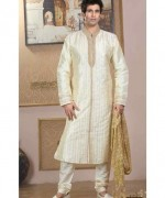 Fashion Of White Sherwani 2014 For Pakistani Groom 009