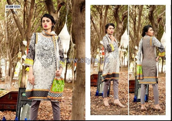 House Of Ittehad Cotton Dresses 2014 For Women 10
