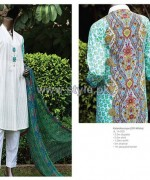 Junaid Jamshed Mid Summer Dresses 2014 For Girls 5