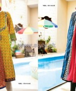 Junaid Jamshed Mid Summer Dresses 2014 For Girls 6