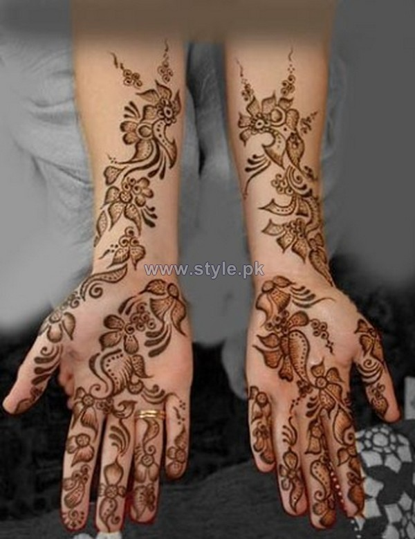 Latest Hand Mehndi Designs For Eid-Ul-Azha 2014 5