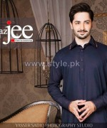 Maazjee Kurta Shalwar Designs 2014 For Eid 2