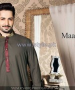Maazjee Kurta Shalwar Designs 2014 For Men 4