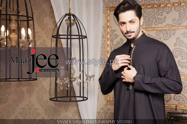 Maazjee Kurta Shalwar Designs 2014 For Men 6