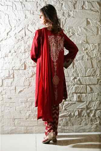 Maria B Eid Ul Azha Collection 2014 For Women 006