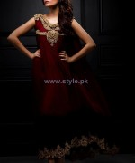 Mina Hasan Formal Wear Dresses 2014 For Girls 1