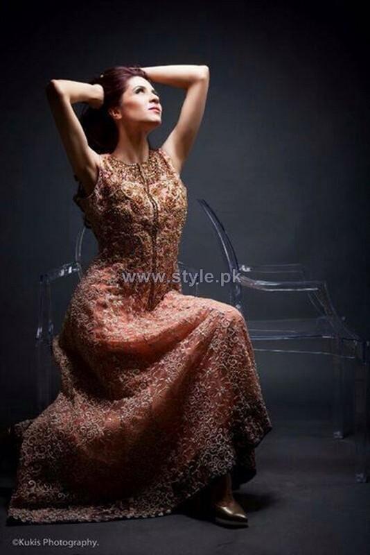 Mina Hasan Formal Wear Dresses 2014 For Women 6