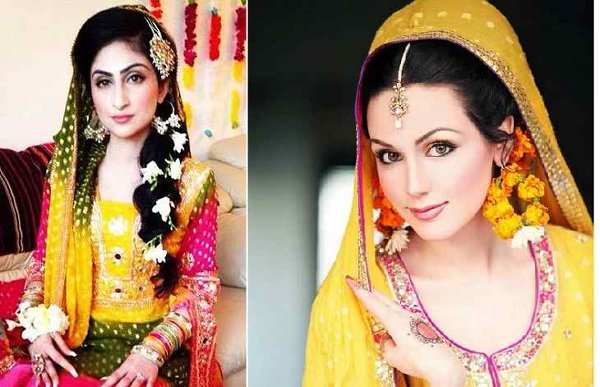 Mehndi Hairstyles Pictures : New bridal hairstyles for mehndi function