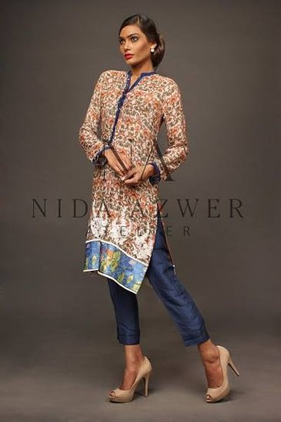 Nida Azwer Eid Ul Azha Collection 2014 For Women 0010