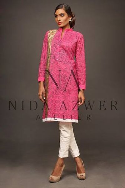 Nida Azwer Eid Ul Azha Collection 2014 For Women 009