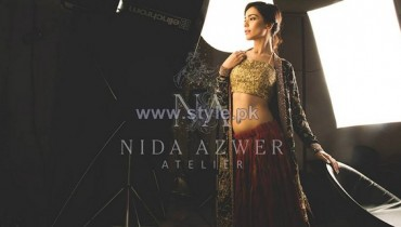 Nida Azwer Wedding Wear Dresses 2014 For Girls 7