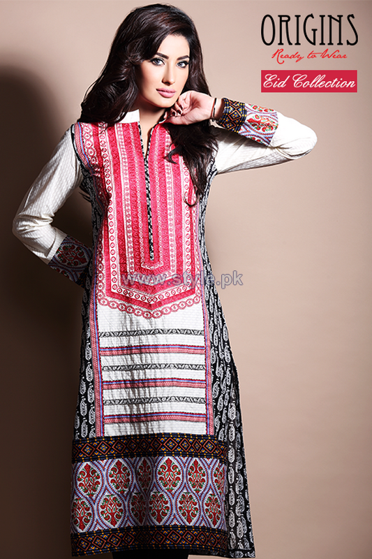Origins Eid-Ul-Azha Dresses 2014 For Girls 5