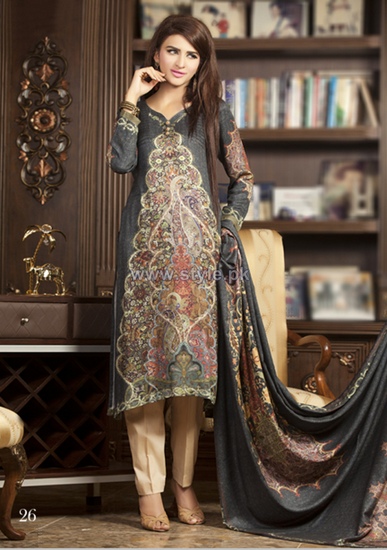 Rashid Textiles Persian Cupro Suiting 2014 For Mid Summer