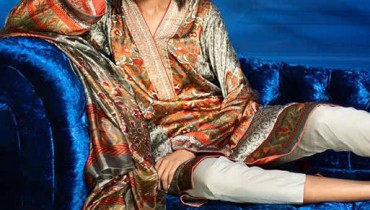 Sana Safinaz Silk Eid Ul Azha Collection 2014 For Women 003