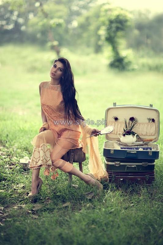 Sana Salman Luxury Pret Dresses 2014 For Women 2