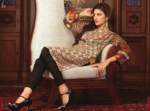 Shariq Textiles Sahil Kurti Collection 2014 For Women 006