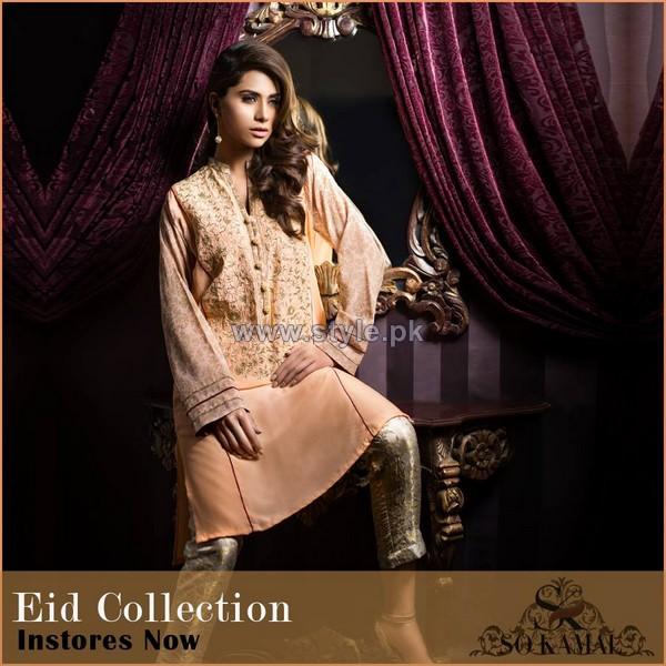 So Kamal Eid-Ul-Azha Dresses 2014 For Girls 4