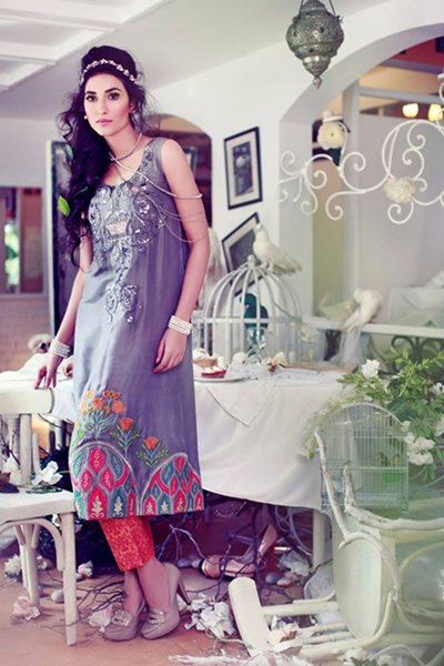 Tena Durrani Eid Ul Azha Collection 2014 For Women 007