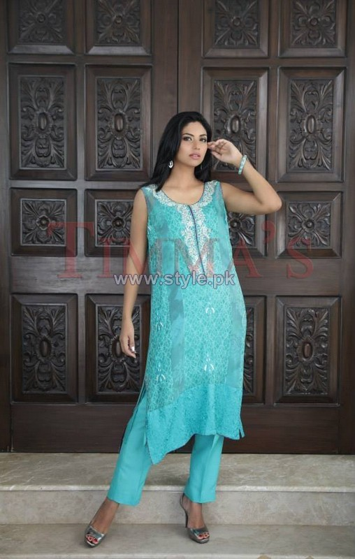 Timma's Party Wear Dresses 2014 For Girls 5