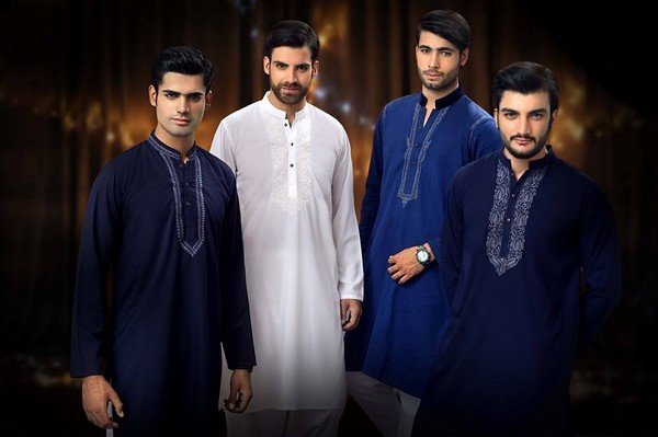 Trend Of Men Kurtas 2014 For Eid Ul Azha 2014 008
