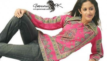 Trend Of Women Kurtas 2014 With Jeans 006