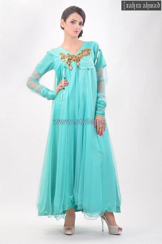 Zahra Ahmad Eid-Ul-Azha Dresses 2014 For Women 4