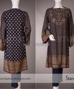 Daaman Eid Dresses 2014 For Women 2