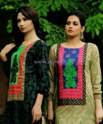 Damak Autumn Winter Dresses 2014 For Girls 13