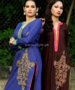 Damak Autumn Winter Dresses 2014 For Girls 14