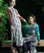 Damak Autumn Winter Dresses 2014 For Girls 4