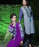 Damak Autumn Winter Dresses 2014 For Girls 6