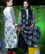 Damak Autumn Winter Dresses 2014 For Girls 7