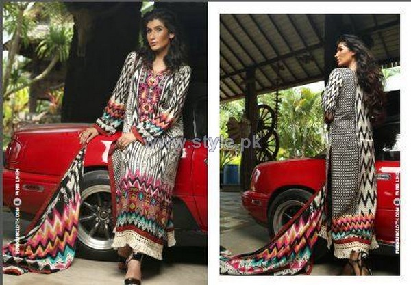 Firdous Fashion Paris Linen Dresses 2014-2015 For Winter 13