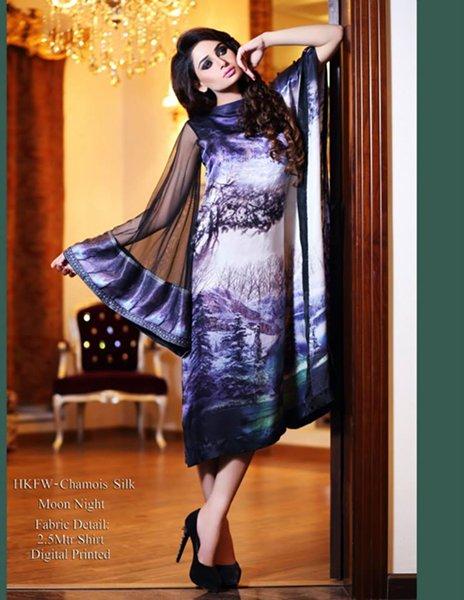 Hadiqa Kiani Fall Dresses 2014 For Women 006