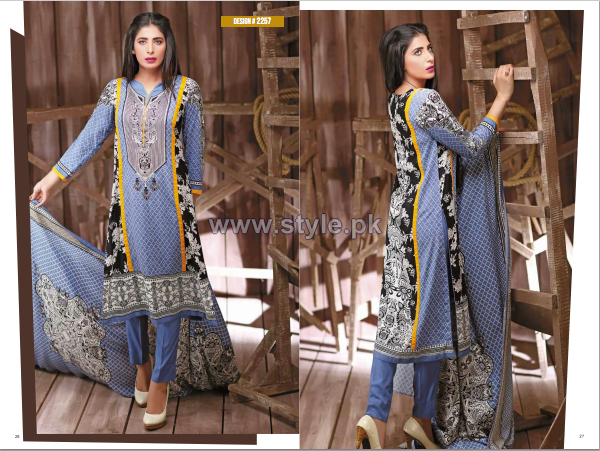 House Of Ittehad German Linen Dresses 2014-2015 For Winter 7