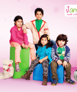 Jambini Winter Dresses 2014 For Kids 001