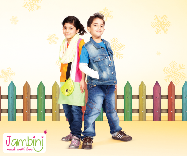 Jambini Winter Dresses 2014 For Kids 002