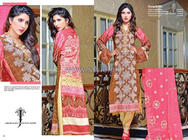 Jubilee Karam Dresses 2014 For Autumn 1