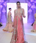 Karma Red Bridal Collection in PFDC L'Oreal Paris Bridal Week 2014 Day 1 Pictures